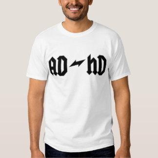 AD-HD ROCK LOGO TEE SHIRTS