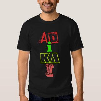 AD, I, I, KA TEE SHIRT