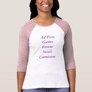 Ad PostsGamesForumsSocialsCommissions Tshirt