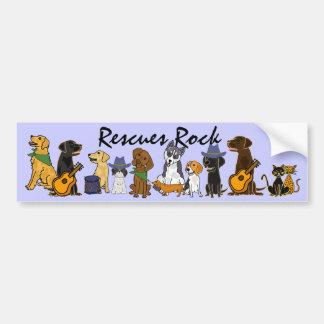 AD- Rescues Rock Bumper Sticker