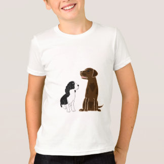 AD- Springer Spaniel and Chocolate Lab Shirt