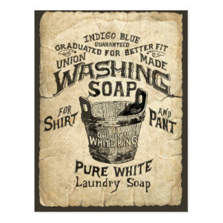 Ad Washing Soap Post Cards