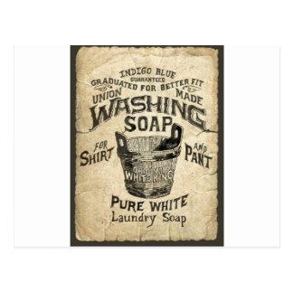 Ad Washing Soap Postcards