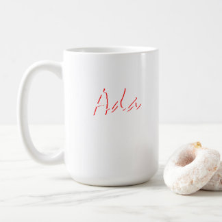 Ada Fine Style Coffee Mug