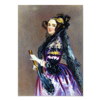 Ada King Countess of Lovelace by Alfred Chalon Invitations