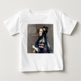 Ada Lovelace (Portrait by Alfred Chalon) Baby T-Shirt