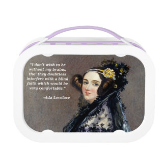 Ada Lovelace (Portrait by Alfred Chalon) Lunch Box