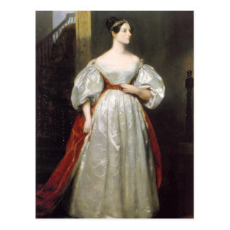 Ada Lovelace Postcard