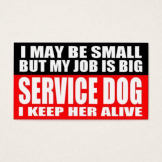 ADA Service Dog Information Cards