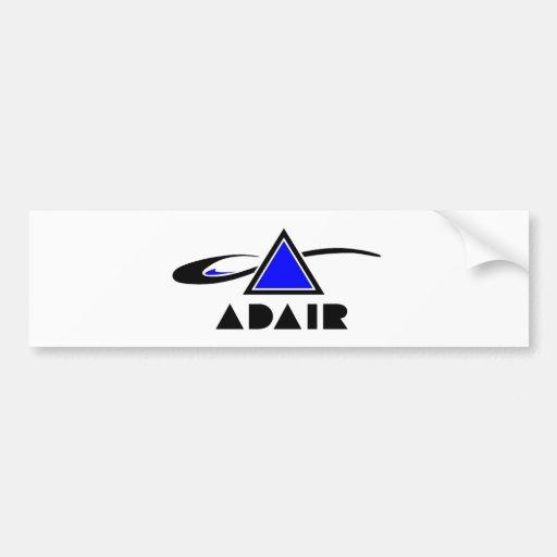 ADAIR Co. Band logo Bumper Sticker