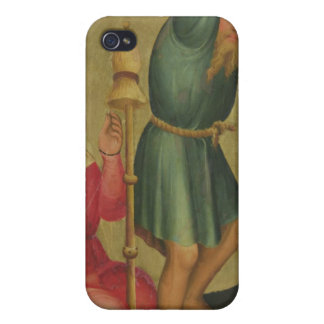 Adam and Eve at Work iPhone 4 Case