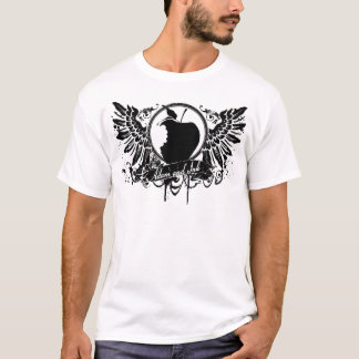 ADAM and INK apple with wings T-Shirt