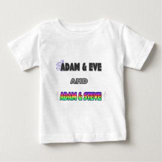 Adam & Eve & Adam & Steve Tee Shirts
