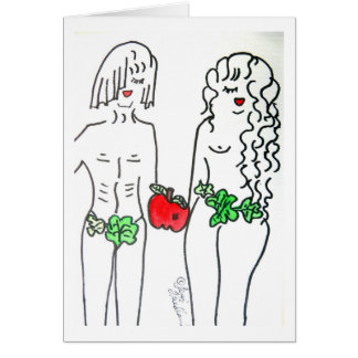Adam & Eve Card