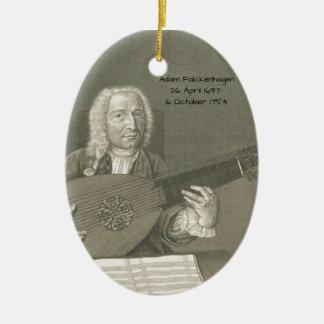 Adam Falckenhagen Ceramic Ornament