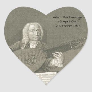 Adam Falckenhagen Heart Sticker
