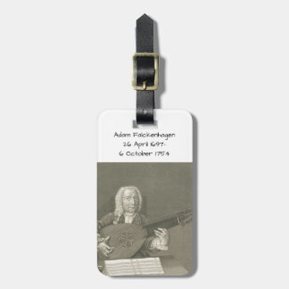 Adam Falckenhagen Luggage Tag