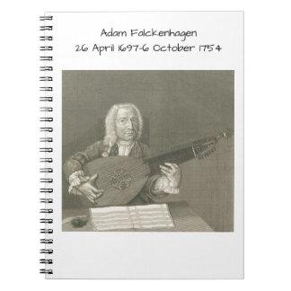Adam Falckenhagen Spiral Notebook