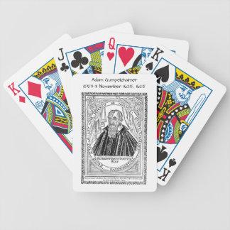 Adam Gumpelzhaimer 1625 Bicycle Playing Cards