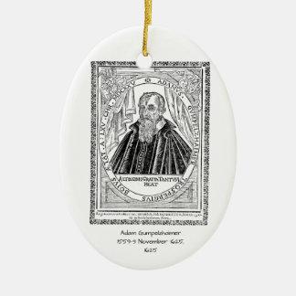Adam Gumpelzhaimer 1625 Ceramic Ornament