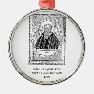 Adam Gumpelzhaimer 1625 Metal Ornament