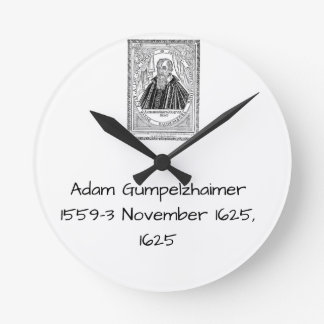Adam Gumpelzhaimer 1625 Round Clock