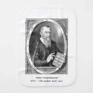 Adam Gumpelzhaimer Burp Cloth