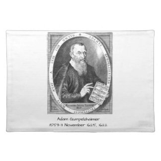 Adam Gumpelzhaimer Placemat