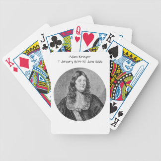 Adam Krieger Bicycle Playing Cards