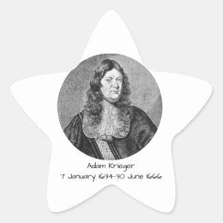 Adam Krieger Star Sticker