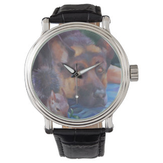 Adam Naming Animals German Shepherd Watch