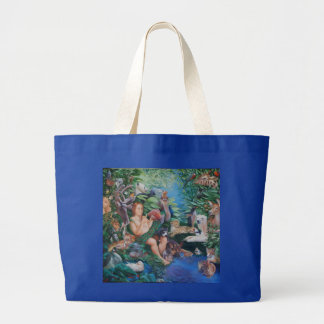 Adam Naming Animals & the Appearance of Eve Tote