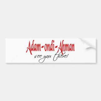 Adam Ondi Ahman Bumper Sticker