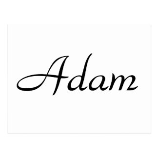 Adam Postcard