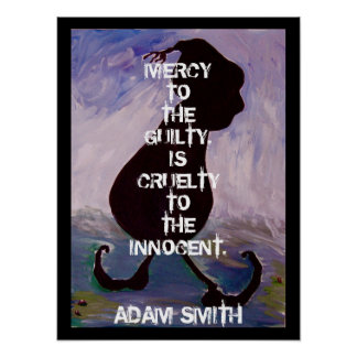 Adam Smith -  Quote - Poster