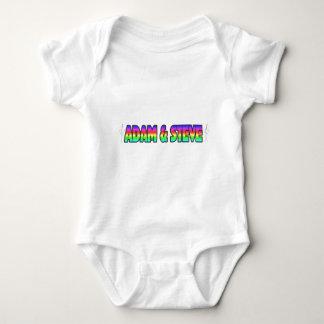 Adam & Steve Baby Bodysuit