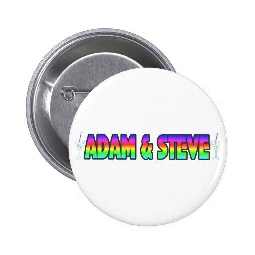 Adam & Steve Button