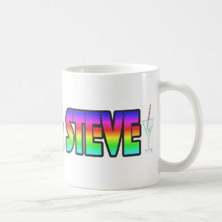 Adam & Steve Basic White Mug
