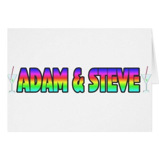 Adam & Steve Cards