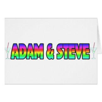 Adam & Steve Greeting Card