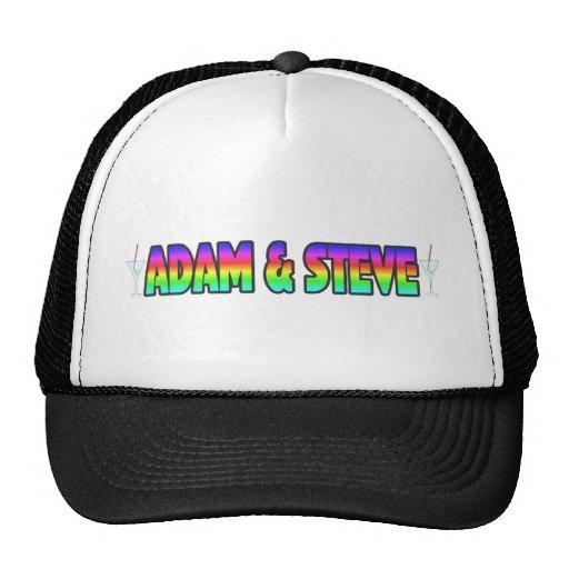 Adam & Steve Trucker Hat