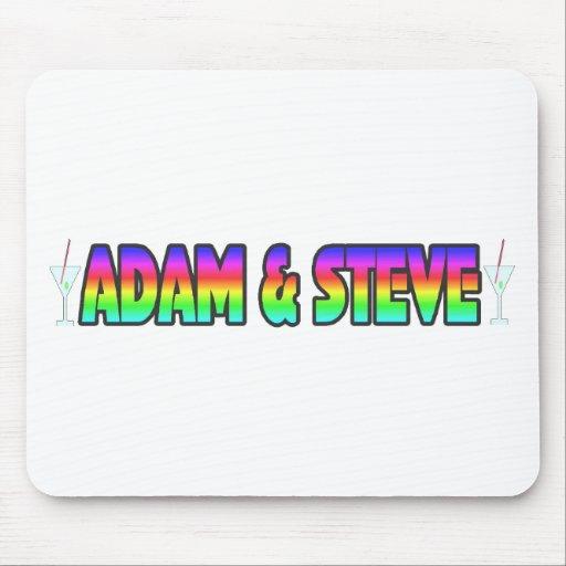 Adam & Steve Mousepads