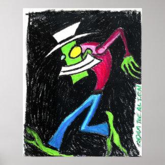 Adam the Alien Poster
