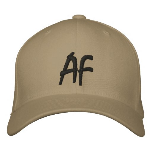 adamant films hat embroidered hat