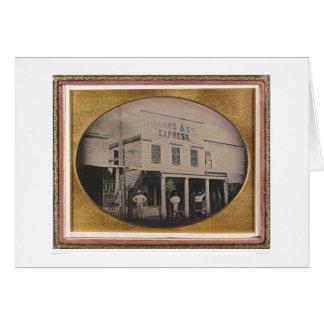Adams & Co. Express building (40129) Greeting Card