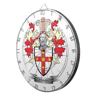 Adams Coat of Arms Dartboard