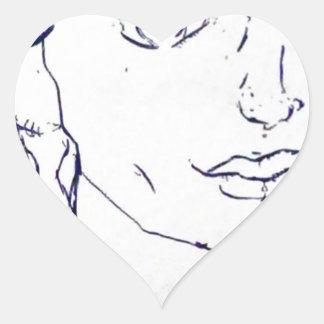 Adams Heart Sticker