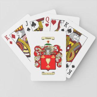 Adams (ireland) playing cards