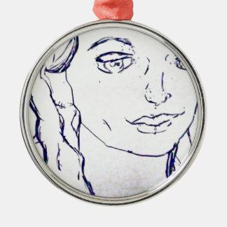 Adams Metal Ornament