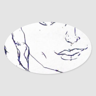 Adams Oval Sticker
